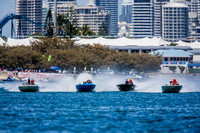 Day 1 of the 2016 Gold Coast Liquid Lightning circuit boat races